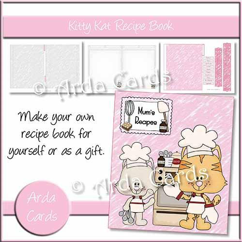 Cat Printables: Recipe Book