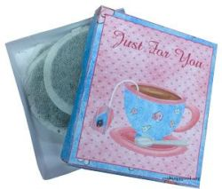 Give the gift of a nice cup of tea in a printable gift box