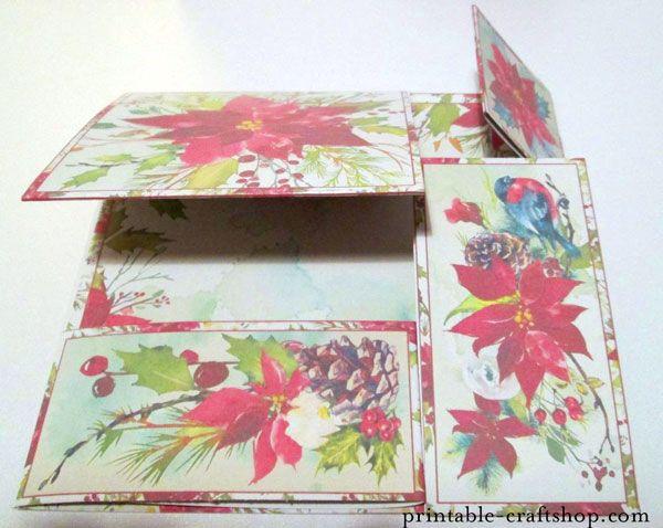 Finished, folded card