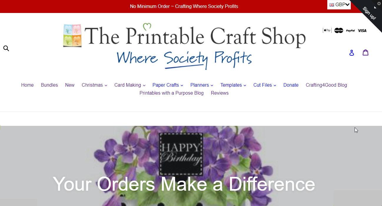 The Printable Craft Shop