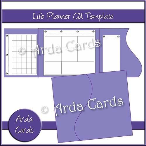 commercial use life planner template