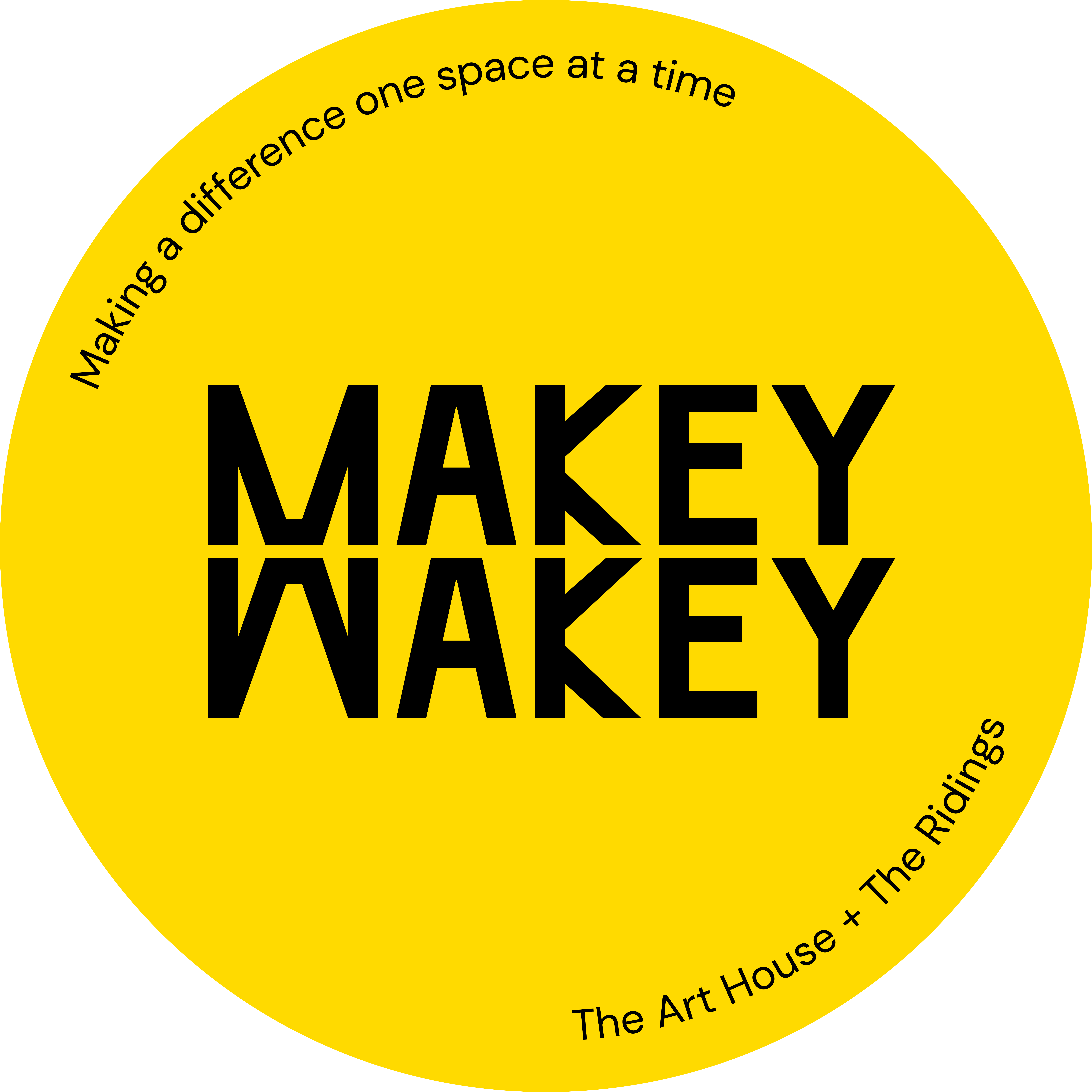 Makey Wakey in Wakefield with Ridings Shopping Centre and The Art House