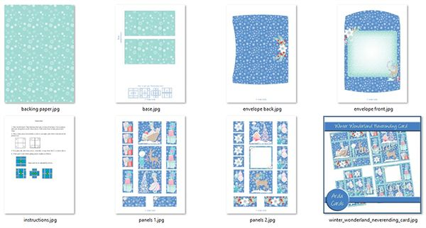 Never-Ending Card Printables in the Kit