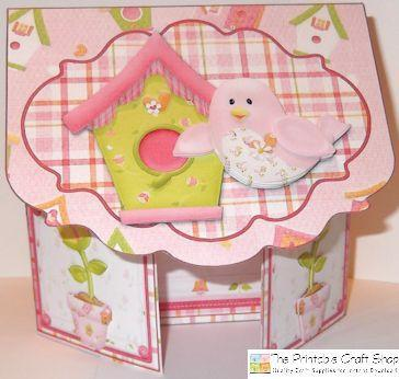 Make a Gatefold Envelope Card from Printables