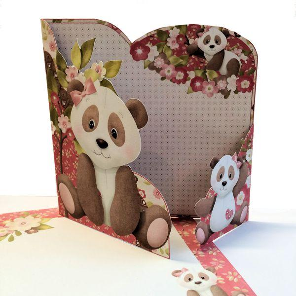 Make a Wrap Around Gatefold Card from Printables
