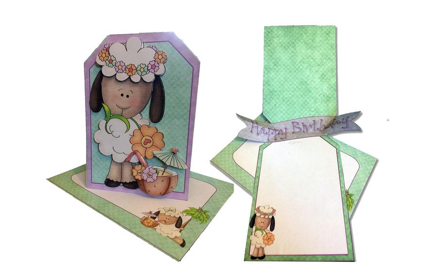 Make a Pop Out Banner Card with Printables