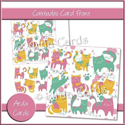 Quick and Easy Card Making Cat Printables