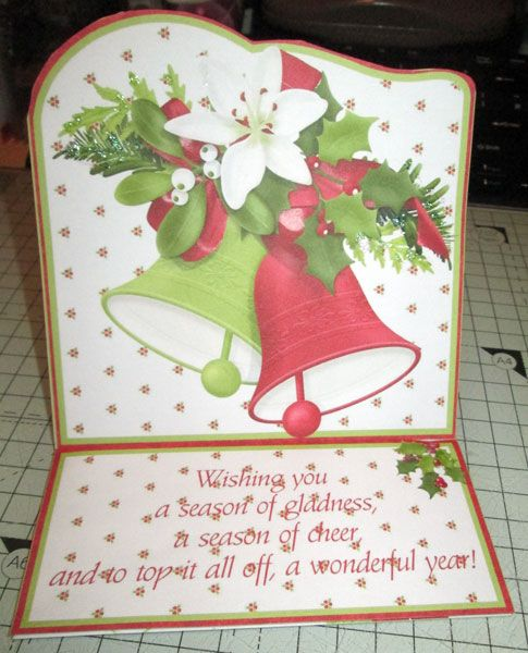 Easel card finished *without* the optional drawer