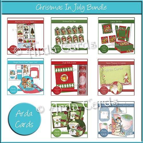 Christmas printables taster kits for instant download