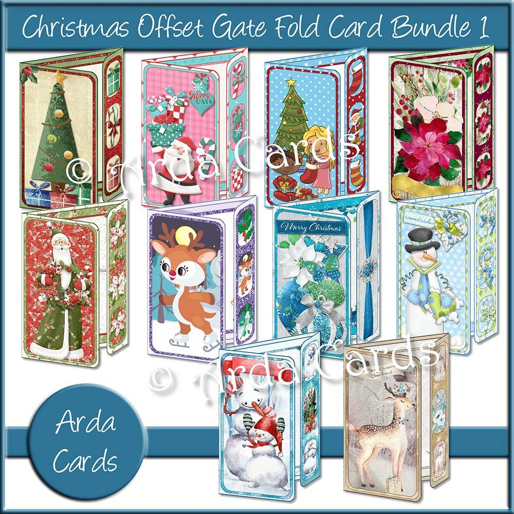 printable gatefold card kits