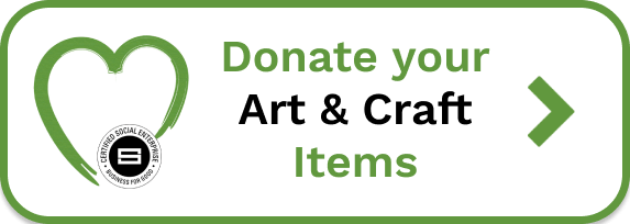 Donate art and craft supplies to Crafting4Good's Creative Hub