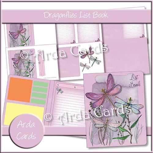 Dragonflies List Book Printables