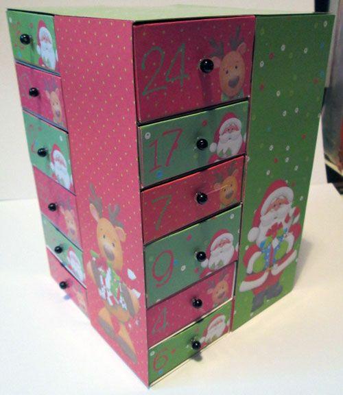 Finished Printable Advent Calendar