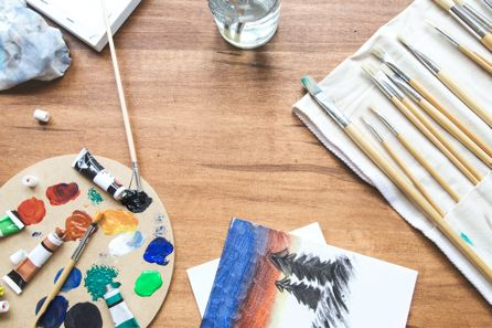 painting and colour demonstrate the importance of creativity on wellbeing