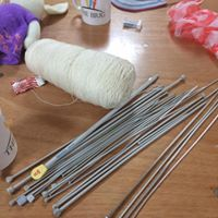 Free knitting needles for members of a Knit & Natter group