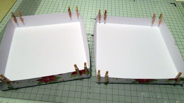 Making the box for the Easel card
