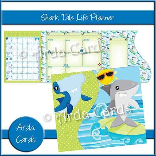 Shark Tale Printable Planner