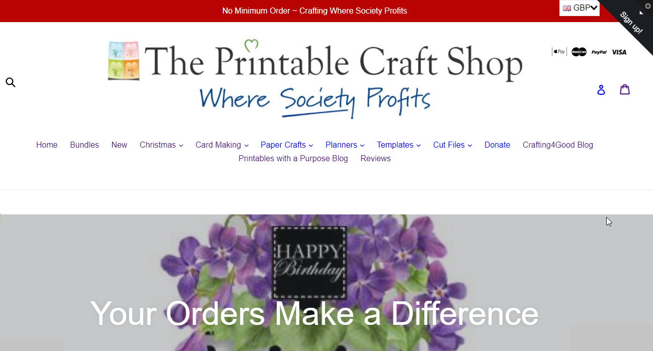 The Printable Craft Shop