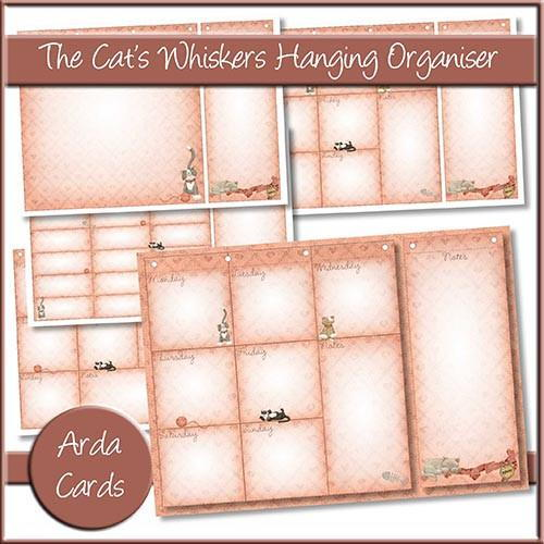 Cat Printables: Hanging Organiser