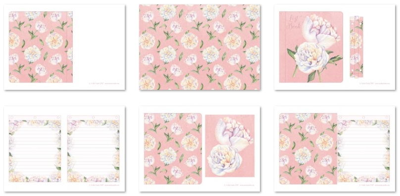 Printables in the downloadable kits
