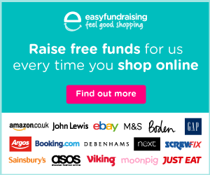 Easy Fundraising for Crafting4Good CIC - donate at no cost to you when you shop