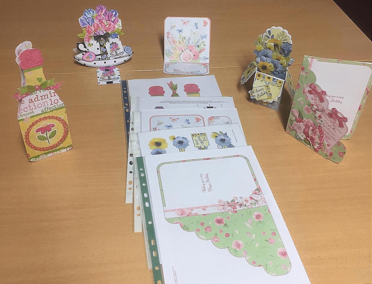 card craft activities for elderly people
