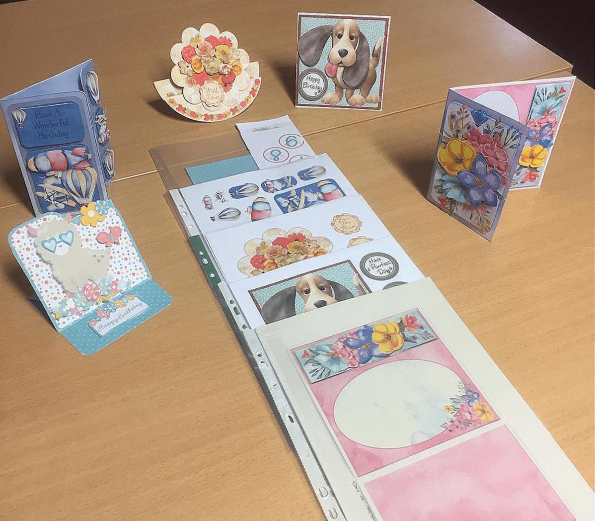 Craft activities for elderly people